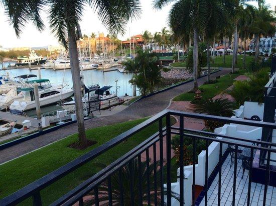 El Cid Marina Beach Hotel: view from our condo balcony