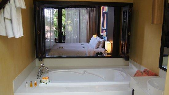 New Star Beach Resort : Blick ins Zimmer
