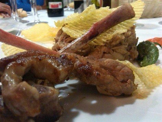 Hotel La Casa de Juansabeli: Cena