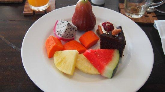 New Star Beach Resort: Toller Obstteller zum Frühstück
