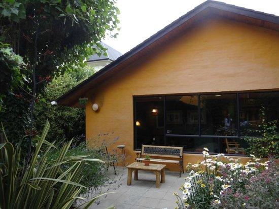 Hosteria Kau Kaleshen: área de convivência