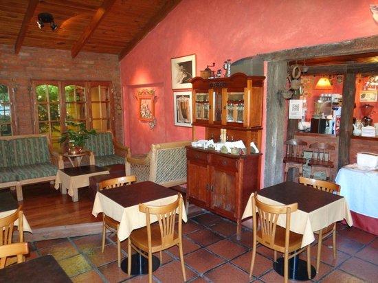 Hosteria Kau Kaleshen: área do café da manhã