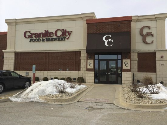 Granite City Food And Brewery: In warmer weather, a stroll along the riverfront would be nice