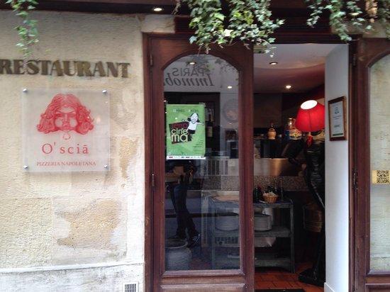 Pizzeria Napoletana O'Scia : Entrata