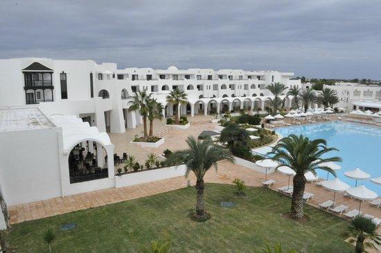 Hotel Palace Royal Garden: vue de la chambre