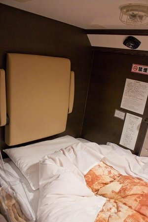 Resort Capsule Sakuragicho: Внутри номера/отсека.