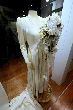 The Walmart Museum: Helen Walton's Wedding Gown