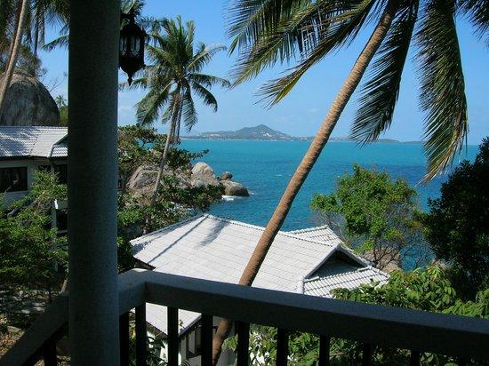 Coral Cove Resort: Aussicht Richtung Chaweng