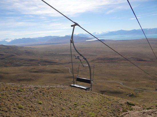 Calafate Mountain Park: trecho legal no teleférico!