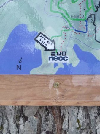 Skiing New England Map.Trail Map Picture Of New England Outdoor Center Cross Country
