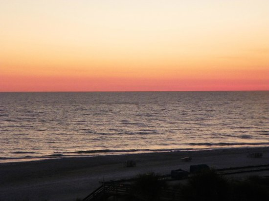Resort at Longboat Key Club: sunset from the balcony