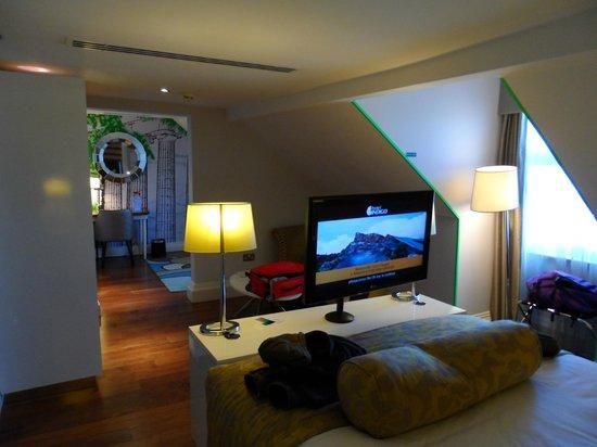 Hotel Indigo Edinburgh : Our bedroom