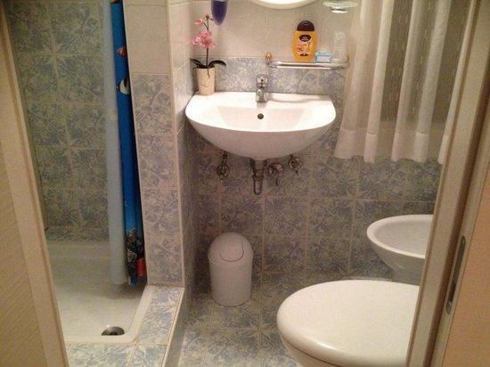 Al Ponterosso : Bagno privato eserno