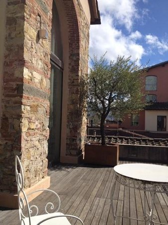 Riva Lofts Florence : our sunny terrace...