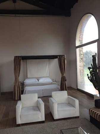 Riva Lofts Florence : the bed...