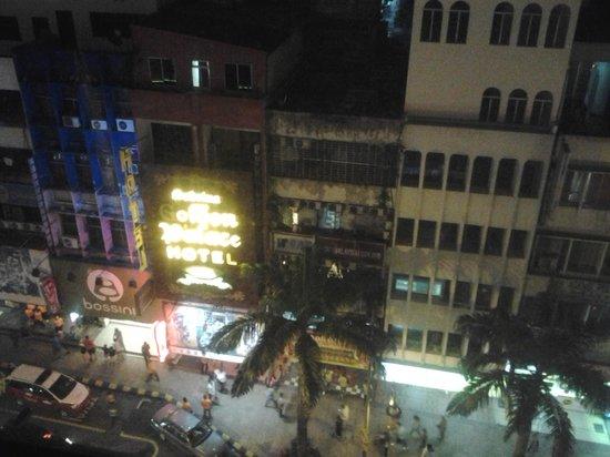 Bintang Warisan Hotel Kuala Lumpur : view from room