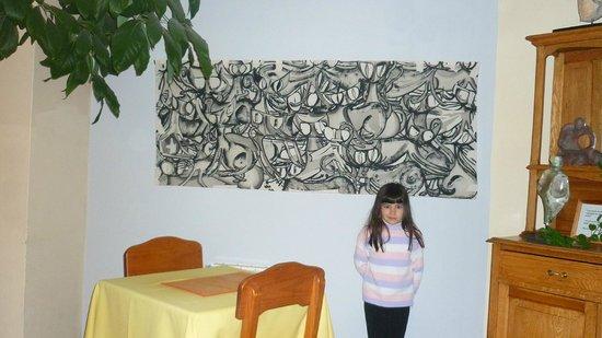 Las Marianas Hotel : Volvimos fascinadas con estos cuadros !