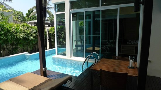 Aleenta Phuket Resort & Spa: Der Privatpool