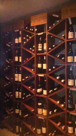 Restaurant La Bavaroise: Wine Room - Nice sellection of wines