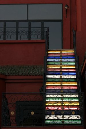 Eden Andalou Hotel Aquapark & Spa: Escalier