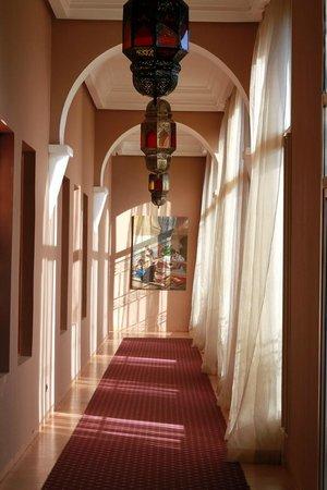 Eden Andalou Hotel Aquapark & Spa: Couloir