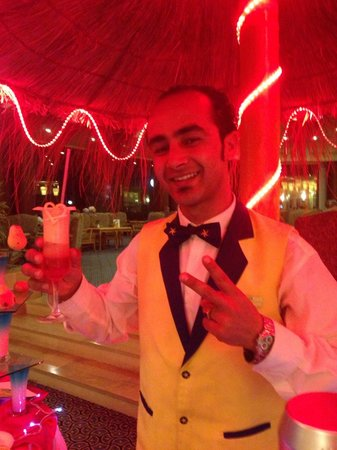 Iberostar Mehari Djerba: Merci pour ce cocktail personnalisé beau et très bon!!! Bravo!