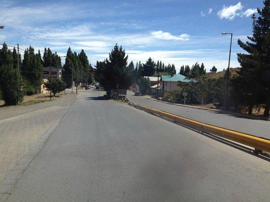 Av del Libertador: rua