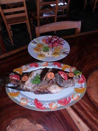 Santa Cruz Hostel & Restaurant: BBQ or Grilled Pescado (Fish)