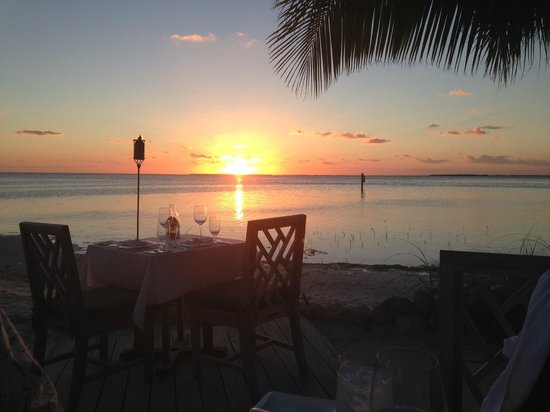 The Dining Room at Little Palm Island: Dinner on the Beach