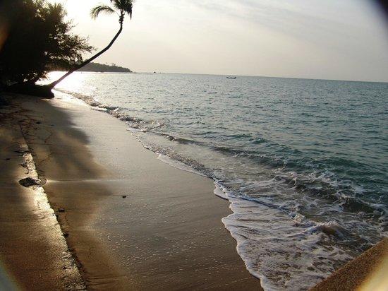 Blu' Beach Bungalows: sehr schöner Strand