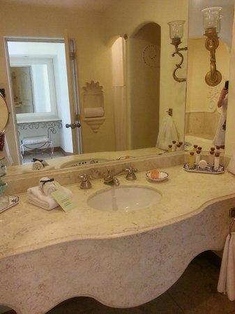 Quinta Real Acapulco: Le lavabo