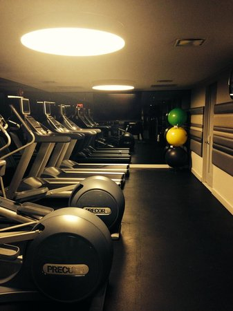 Paramount Hotel Times Square New York: fitness room