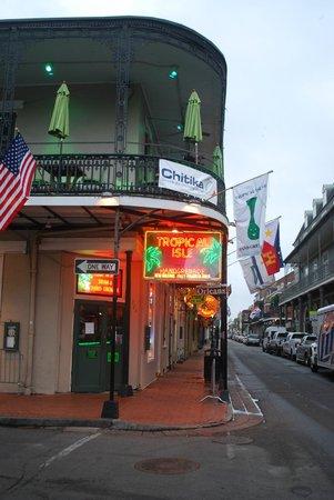 Bourbon Street: di giorno