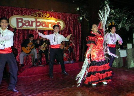 Barbara's: Escena del espectáculo
