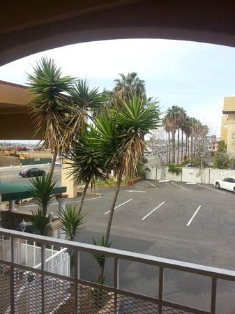 Pacific Inn Hotel & Suites: view from room