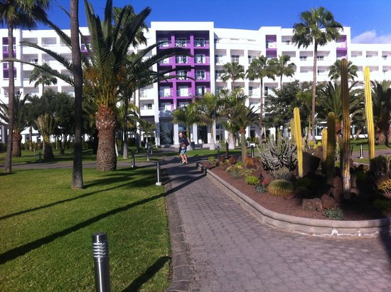 ClubHotel Riu Gran Canaria : Hotel gardens