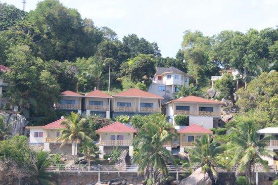 Patatran Village Hotel: Отель с моря