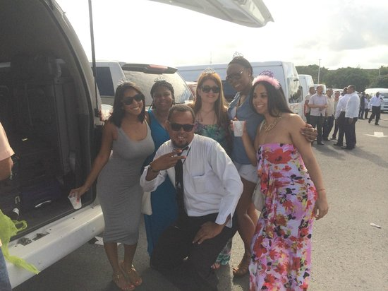 Dominican Quest - Tours: Us with our Driver!