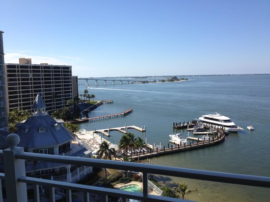 Sanibel Harbour Marriott Resort & Spa : From the balcony of our room