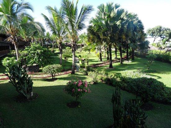 Vanila Hotel & Spa: jardin superbe