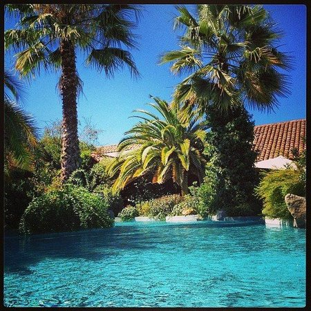 Hotel Santa Cruz : JARDIN PISCINA !