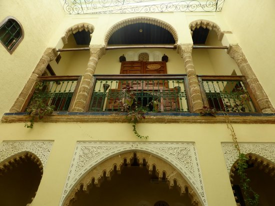 Riad Dar Aida : The courtyard