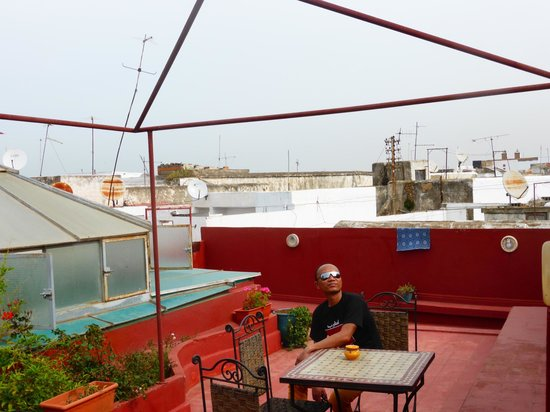 Riad Dar Aida : The rooftop