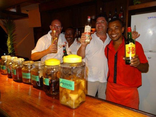 Vanila Hotel & Spa : des fois on passe derrière le bar !!!