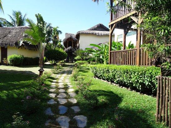 Vanila Hotel & Spa: jardin