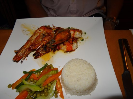 Vanila Hotel & Spa: super présentation du repas