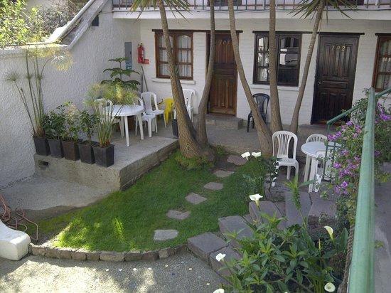 L'Auberge-Inn : Terraza Común