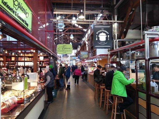Part of the public market - Granville island