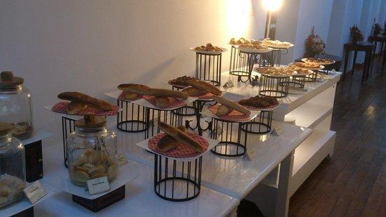 Jetwing St. Andrew's: Schönes Frühstücksbuffet