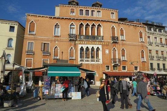 Hotel Gabrielli: Faixada do Hotel